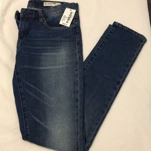 brand new blank NYC medium wash jeans.